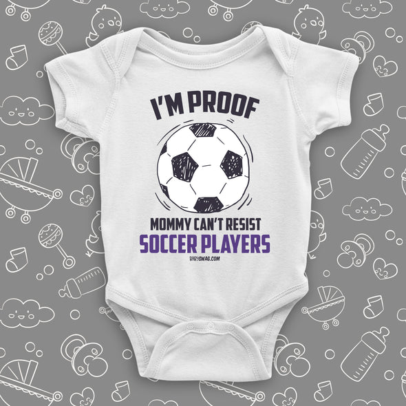 I'm Proof Mommy Can't Resist Soccer Players