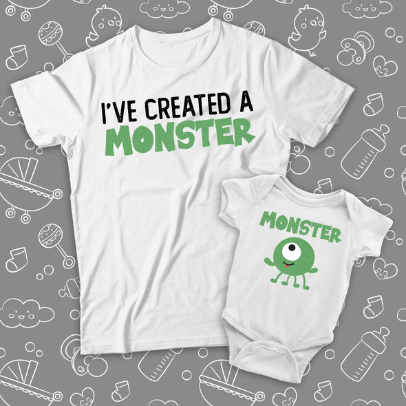MATCHING SET - I've Created A Monster & Monster