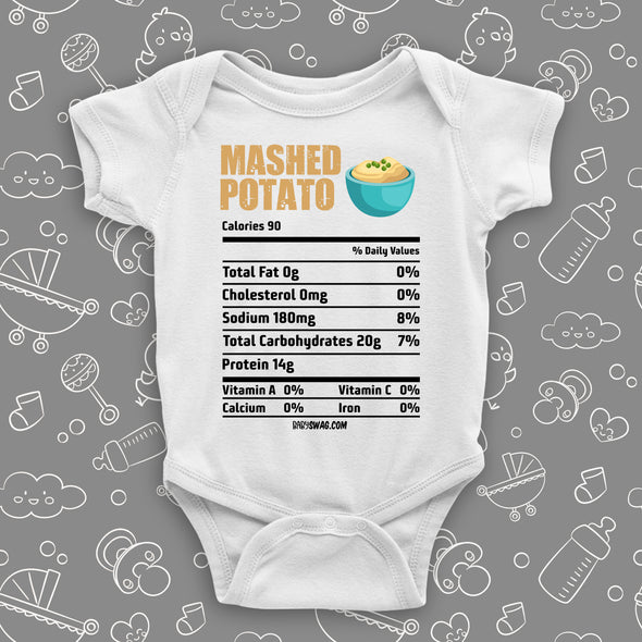 Mashed Potato Nutrition Facts