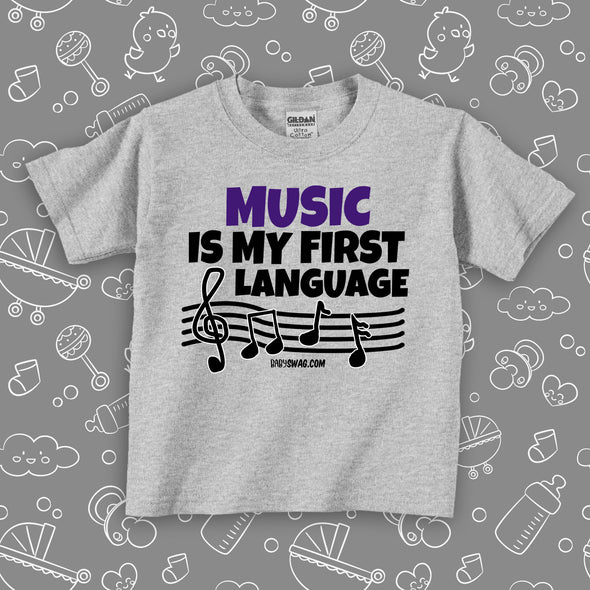 Music Is My First Language (T)