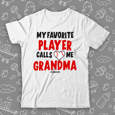 My Favorite Player Calls Me Grandma