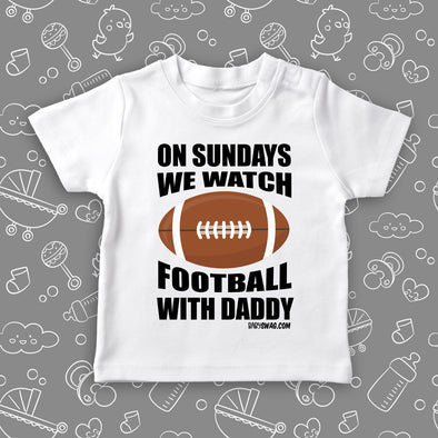 On Sunday We Watch Football With Daddy (T)