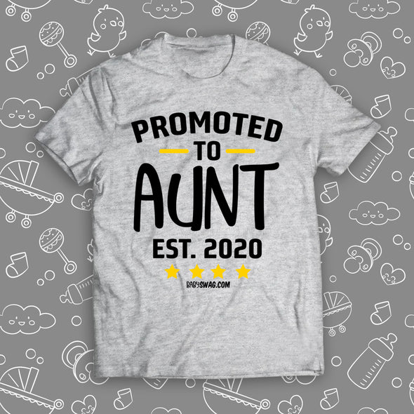 Promoted To Aunt Est. 2020