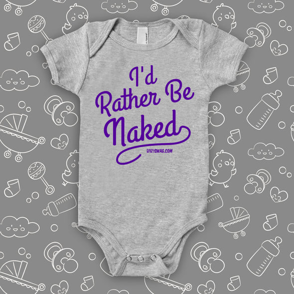 Rather Be Naked