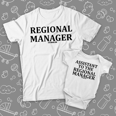 Regional Manager And The Assistant