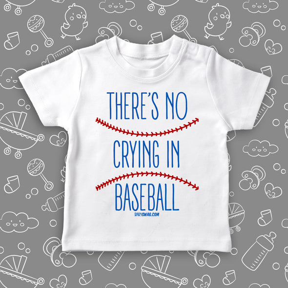 There's No Crying In Baseball (T)