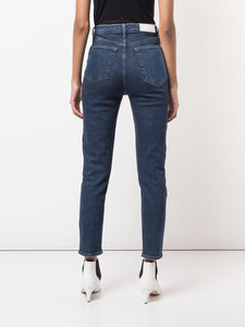 High Slim Cropped Jeans