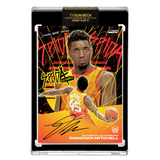 *PREORDER* PART V OF V - OFFICIAL DONOVAN MITCHELL X TYSON BECK METALLIC SUNSET – BLACK AUTOGRAPHED CARD - LIMITED TO 25