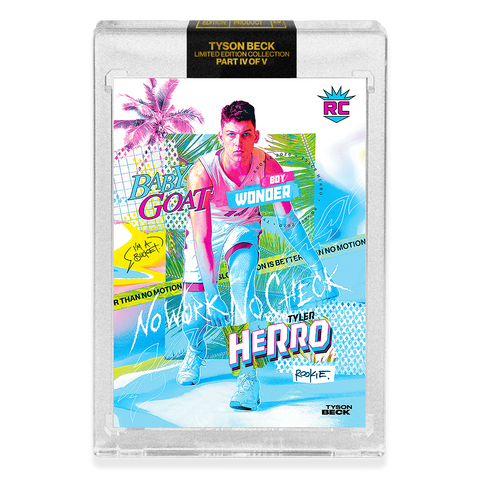 *PRESALE* PART IV OF V - OFFICIAL TYLER HERRO X TYSON BECK - RC VICE BASE CARD - LIMITED TO 750