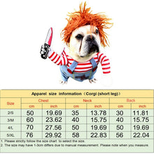 Load image into Gallery viewer, Chucky™ Pet Costume