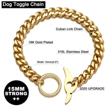 Load image into Gallery viewer, Cuban Link Chain ™ Pet Collar