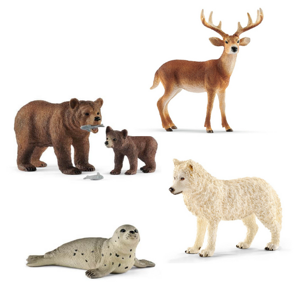 Kit 4 figurines - Schleich