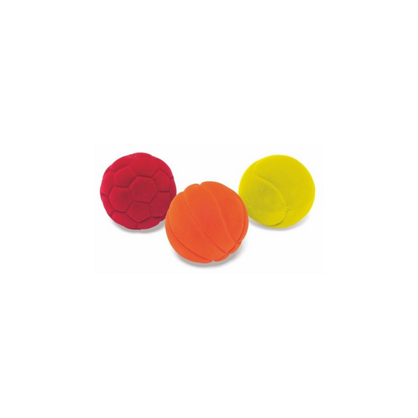 Set de 3 mini balles - Rubbabu