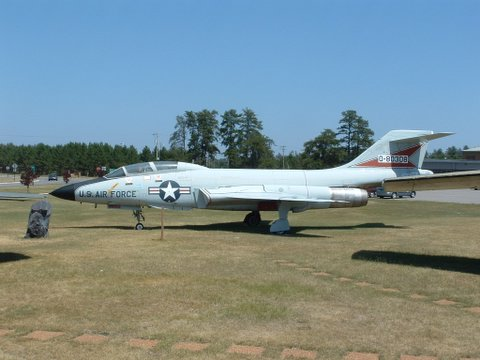 K.I. Sawyer Heritage Air Museum F-101 Fighter Display
