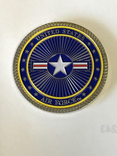 Strategic Air Command Challenge Coin