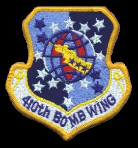 410th Bomb Wing Patch