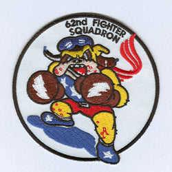 62nd Fighter Squadron Official Patch