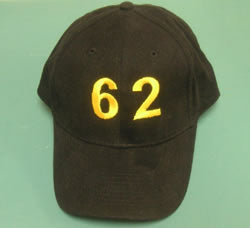 62nd Fighter Interceptor Squadron Embroidered Cap