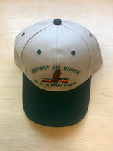 Load image into Gallery viewer, K.I. Sawyer Heritage Air Museum Logo Embroidered Cap