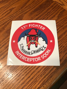 11th FIS Decal