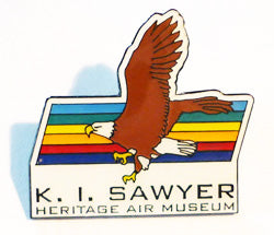 Official K.I. Sawyer Heritage Air Museum Hat Pin