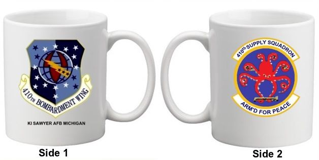 410th Supply Squadron Coffee Mug 15oz.