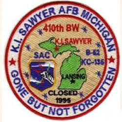 K.I. Sawyer End Of An Era Patch