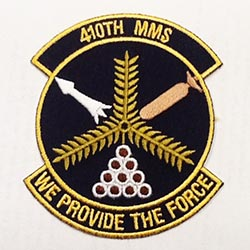 410th MMS We Provide The Force Patch