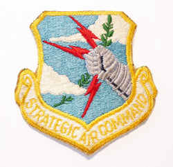 Strategic Air Command Shield Patch
