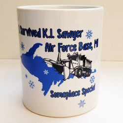 I Survived K.I. Sawyer Coffee Beverage Mug