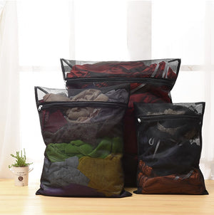 Laundry Wash Bag Black