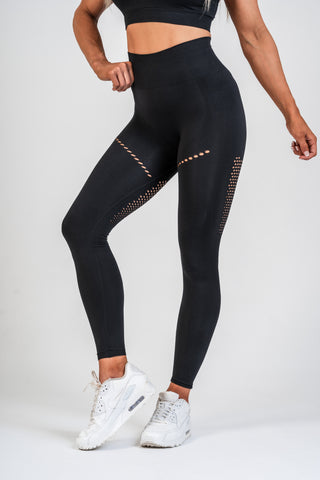 Seamless Leggings S1 Black