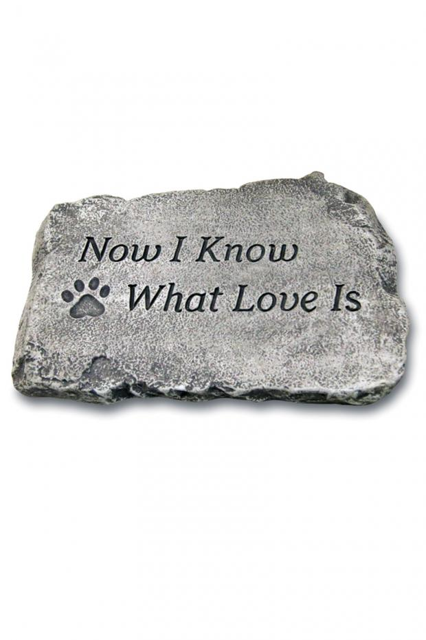 "Now I know what love is: 10"" Garden Stone"