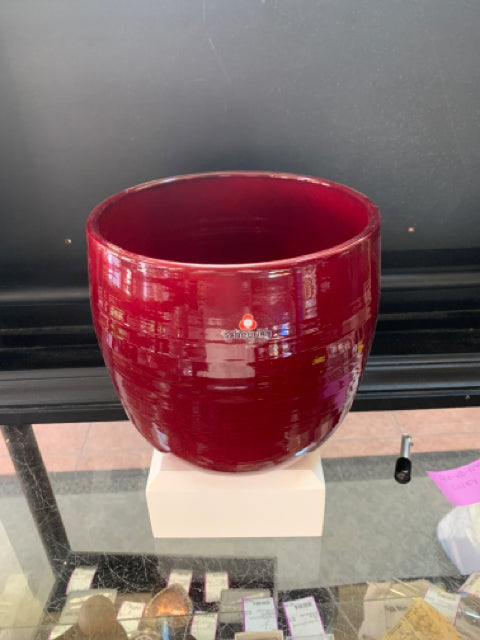 Cover Pot - Dark Red 8""