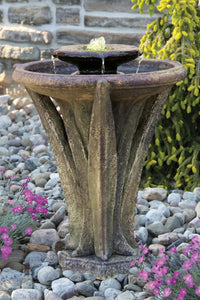 "Two Tier Meadows Glow Fountain 27""H"