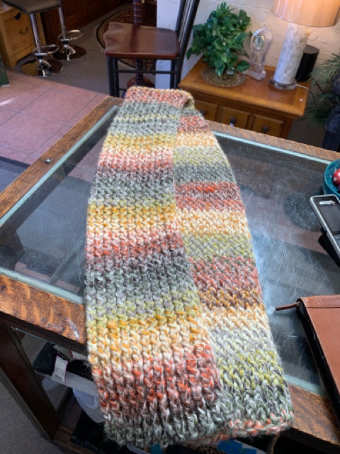 "Men-Do-Knit Scarf 60"" x 6"""