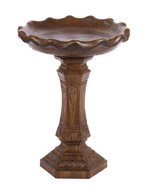"Quiet Interlude Birdbath 26""H"