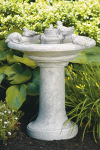 "Birds of a Feather Fountain 35""H"