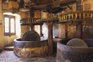 Ancient Greek Olive Oil Hand Machinery