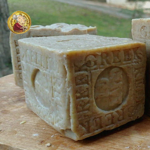Artisan Greek Olive Oil Aged Soap