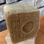 Aged Limited Greek Extra Virgin Olive Oil Handcrafted Soap -Mediterranean Sea Salt -EVOO