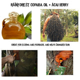 Amazon Rain Forest Ingredients Oils Plants Acai Copaiba
