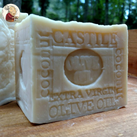 Handcrafted Castile Olive Oil and Coconut Oil Soap
