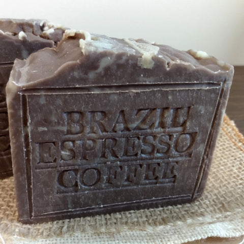 Handmade Soap Brazil Coffee with Cocoa Butter And Coffee Butter Natural