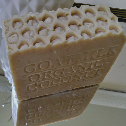 handmade goat and coconut milk soap