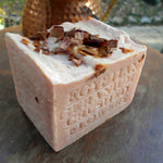 Natural floral soap  geranium