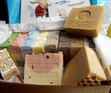 12 Piece Gift Set All  Natural  Soap - Individually Wrapped 7 oz. Each