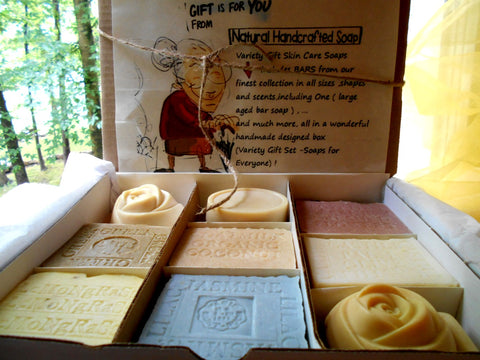 Soap Gift Set Handmade Artisan Natural
