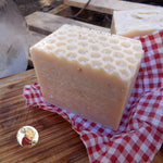 natural soap made with goat's and coconut milk
