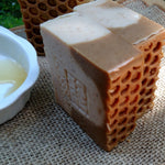 Goats Milk Soap with Blossom Honey- Farm Fresh Milk